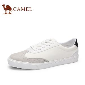骆驼牌 男鞋 新款帆布鞋男时尚低帮平底休闲鞋潮鞋