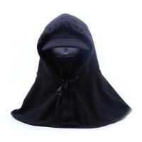 女冬天骑行保暖帽护颈面罩男抓绒防风头套防寒护耳带披肩帽子