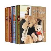 泰迪熊封面相册 儿童成长纪念册 100张情侣旅游婚纱照相簿4D大6寸