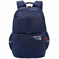 迪士尼0434学生书包 校园背包 休闲包 韩版旅行包 蓝色旅行包 1个