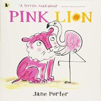 英文原版绘本 PINK LION粉红狮子
