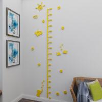 卡通身高贴宝宝儿童房玄关测量身高尺3d亚克力立体墙贴自粘可移除