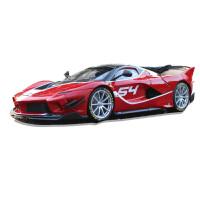 法拉利FXX EVO进化版仿真合金汽车模型金属摆件男