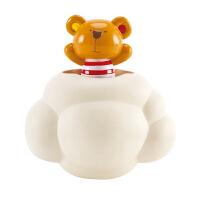 Hape泰迪&洒水云迷藏游戏12个月以上宝宝洗澡玩具婴幼玩具戏水浴室玩具E0202