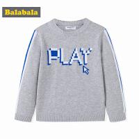 巴拉巴拉童装男童毛衣套头儿童秋装2017新款小童宝宝套头毛衫