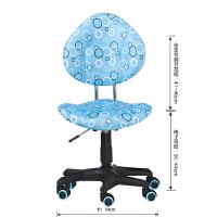 【当当自营】好事达 博学儿童学习椅 可调节带重力刹车轮人体工学学习椅 乐智转椅(王子蓝)6251