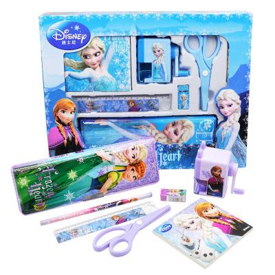 迪士尼文具套装 正品冰雪奇缘小学生文具礼盒 儿童节礼物文具奖品