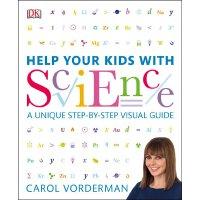 Help Your Kids with Science. by Carol Vorderman 英文原版 帮你的孩子学科学 DK家庭教育系列
