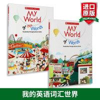 学乐儿童英语图解词典 我的英语词汇世界My World of Words 英文原版英语单词书 Scholastic小学