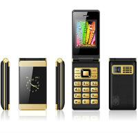 【礼品卡】达仁F801 老人手机 翻盖手机 老人手机双屏翻盖中老年人手机 老人机