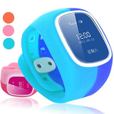 儿童手表智能手表电话手机插卡能打电话学生小孩手环GPS定位手表 生活防水 安全充电双向通话 准确定位 远程倾听 语音对讲 计步