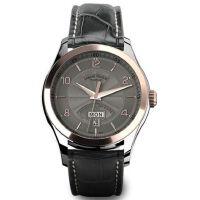 瑞士艾美达(Armand Nicolet)-当代经典系列 M02 8740A-GS-P974GR2 18k玫瑰金、机械男士手表