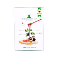韩国直邮 JAYJUN水光 新品麦卢卡蜂蜜果蔬面膜-绿蔬面膜 25ml*5 包邮包税