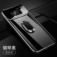 三星S8手机壳S9玻璃S8+保护套S9+全包plus防摔SM一G9500硬壳9550男DS女G950 S8+【镜面款-