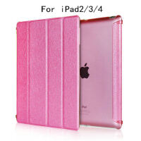ipad2保护套苹果ip3代平板电脑皮套ipad4外壳pad全包边外套9.7寸i