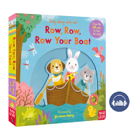 Sing Along with Me Row Row Row Your Boat 划小船 童谣机关操作书 纸板书 幼儿