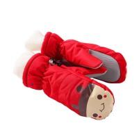 儿童手套冬款滑雪动物卡通男女童厚宝宝保暖小孩户外手套
