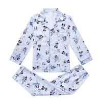 春秋季新款儿童睡衣男孩纯棉长袖睡衣男童中大童宝宝家居服套装 24码 适合身高160-165cm