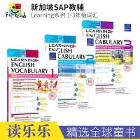 SAP Learning Vocabulary 1-3 小学一二三年级英语词汇练习册 在线测试版 7-9岁 新加坡教辅