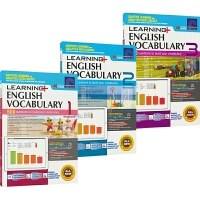 【首页抢券300-100】SAP Learning Vocabulary 1-3 小学一二三年级英语词汇练习册 在线测试