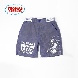 【满100减50】托马斯童装男童夏装时尚休闲纯棉印花 短裤五分裤