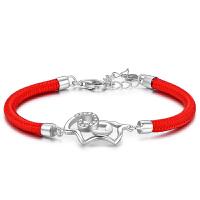 女配件本命年红绳生肖羊年银饰品生日礼物
