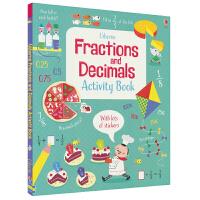 Usborne Fractions and Decimals Activity Book 分数和小数 数学启蒙活动书