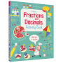 Usborne Fractions and Decimals Activity Book 分数和小数 数学启蒙活动书 儿童英文原版图书进口