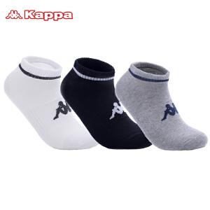 Kappa/卡帕(3双)男袜子棉质短袜篮球足球运动袜子组合装KP8W13