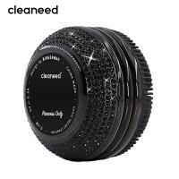 cleaneed 洁面仪 硅胶电动毛孔清洁去黑头美容按摩洗脸仪 钻石水晶镶钻闪耀系列高端款 黑天鹅