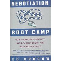 NEGOTIATION BOOT CAMP(ISBN=9780385518499) 英文原版