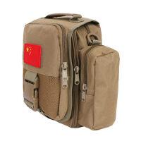 战术单肩包男户外运动多功能斜挎包军迷彩腰包商务休闲手提包 支持礼品卡支付