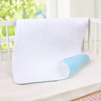 吸水隔尿垫老人婴儿可机洗防滑隔尿婴童床垫防水可机洗 白面蓝底