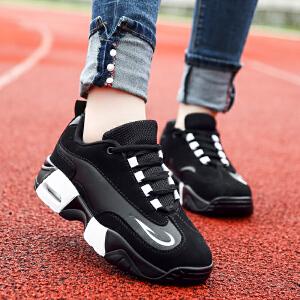 新百伦支撑 2017春季新品情侣运动休闲鞋男士气垫鞋跑步鞋韩版棉鞋潮流女鞋子板鞋