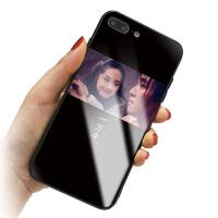 苹果8plus手机壳iPhone6plus保护套i7情侣款pg6s平果X玻璃pingg10硬壳ihp 6p/6sp 电