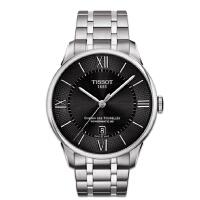 天梭TISSOT-杜鲁尔系列 T099.407.11.058.00 机械男士手表【好礼万表 礼品卡可购】