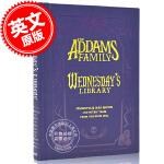 现货 亚当斯一家 星期三的图书馆 毛边本 英文原版 ADDAMS FAMILY WEDNESDAYS LIBRA 文学