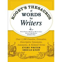 英文原版 罗氏写作者词典 Roget's Thesaurus of Words for Writers