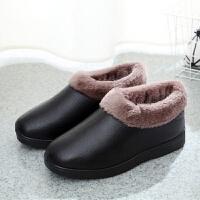 新款冬季老北京布鞋女棉鞋防滑保暖妈妈棉鞋加绒加厚防水棉鞋