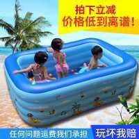 儿童充气游泳池家庭家用超大号大型室内加厚婴幼儿宝宝洗澡戏水池