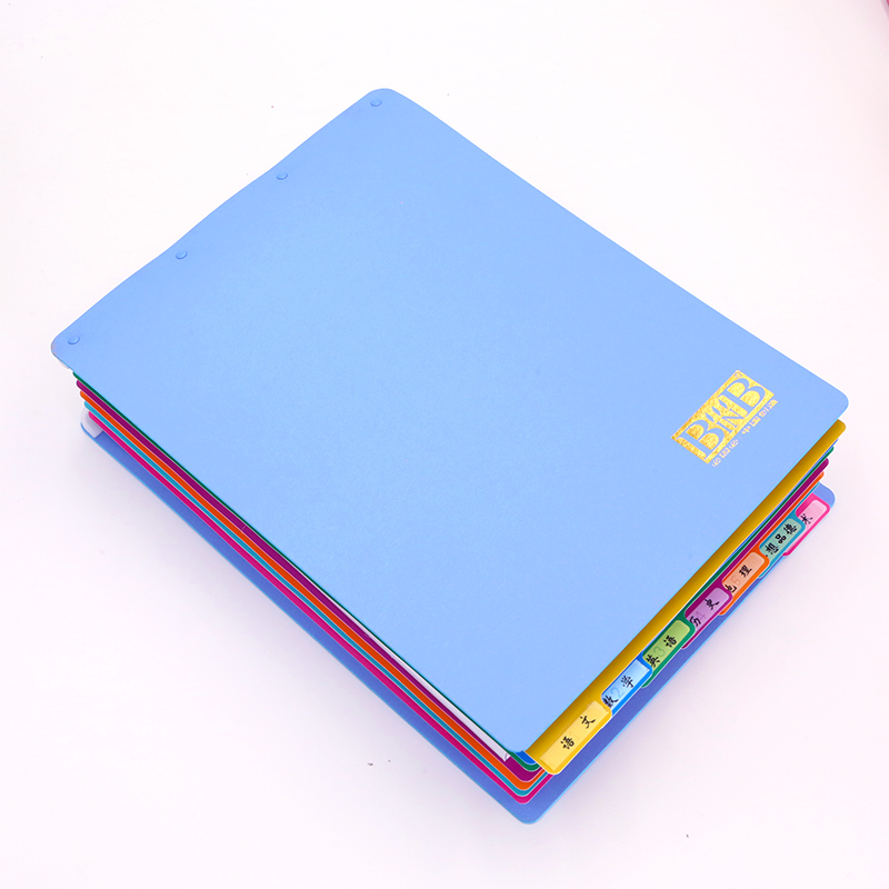 BINB必因必 2016蓝色包中宝 王芳创意文具 学生书包整理收纳 保护书本 当当自营
