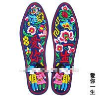 布鞋垫成品 刺绣鞋垫手工鞋垫 纯手成品男女绣花鞋垫吸汗
