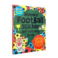 Ultimate Football Sticker and Activity Book 超大足球主题英语贴纸活动书 超