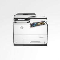 惠普HP M577dw彩色激光数码多功能一体机无线双面三合一商用办公复印扫描 传真577系列