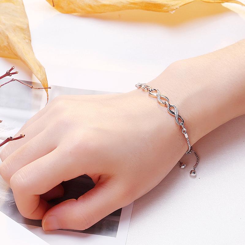 手链女韩版简约个性首饰流行饰品情人节礼物送女友