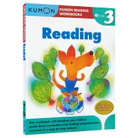 Kumon Reading Workbooks G3 公文式教育 阅读练习册 小学三年级教辅 8-9岁 思维技能训练