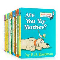 英文原版 12 Dr Seuss's ABC 低幼适龄版 苏斯博士纸板are you my mother/Fox In
