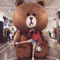 3.8米巨型公仔抱抱熊2.5m大狗熊布娃娃布朗熊1.6*超大号玩偶