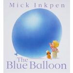 The Blue Balloon 蓝气球 英文原版 小狗卡皮 廖彩杏书单(含折页跨页拉页)进口绘本