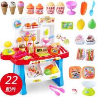 儿童玩具女孩过家家仿真超市玩具宝宝音乐灯光糖果车2-3-4-5-6岁
